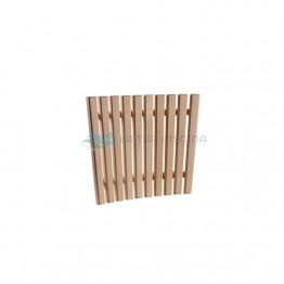 Abajur din lemn de tei model colt
