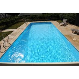 Kit piscina din cofraje polistiren 8 x 4 x 1.5m