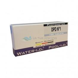 Rezerve clor liber DPD1 fotometru, 100 tablete Cl / Br