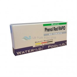 Rezerve Phenol Red rapid, 50 tablete pH